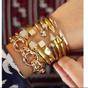 NWOT Vita Fede bracelet mini titan Rose Gold  M